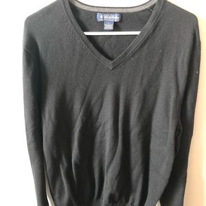 Sweater, Brooks Brothers, black